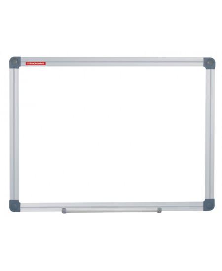 Balta magnetinė lenta MEMOBOARDS 120x240 cm, aliuminio rėmu