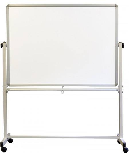 Mobili dvipusė magnetinė lenta MEMOBOARDS, su ratukais, 120x90cm