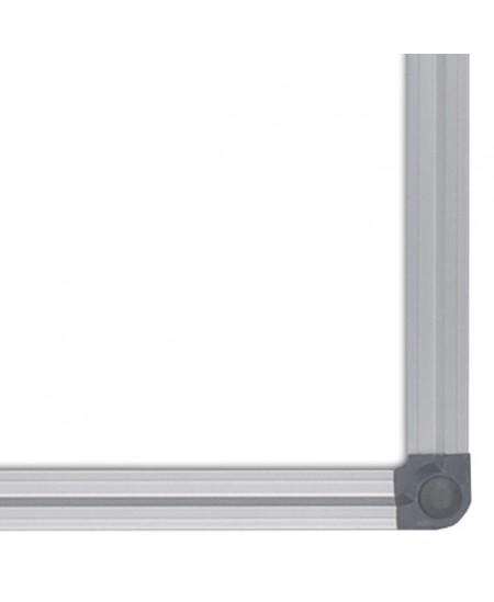 Balta magnetinė lenta MEMOBOARDS, 100x200 cm, aliuminio rėmas