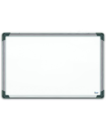 Balta magnetinė lenta FORPUS, 45x60 cm, aliuminio rėmas