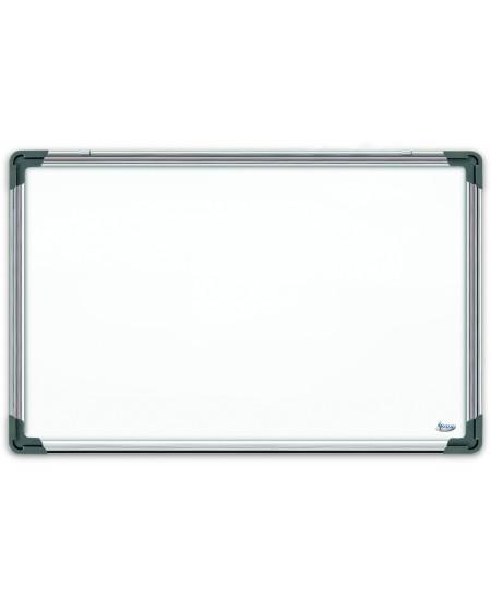 Balta magnetinė lenta 90x120cm, aliuminio rėmas
