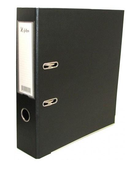 Segtuvas X-FILES, standartinis, A5, 75 mm, juodas