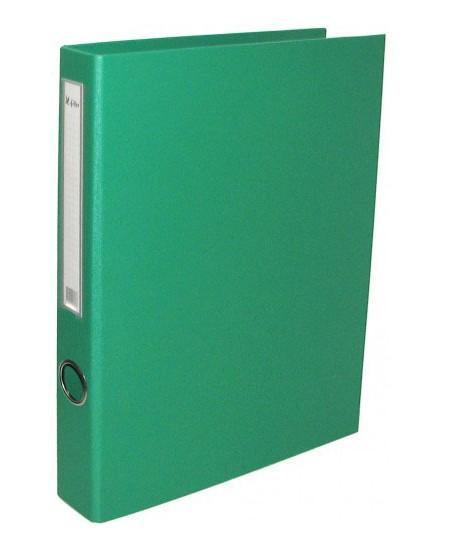 Segtuvas X-FILES, standartinis, A5, 75 mm, žalias