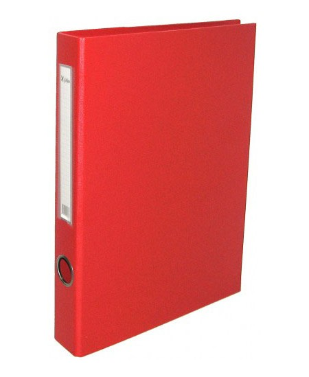 Segtuvas X-FILES, standartinis, A5, 75 mm, raudonas