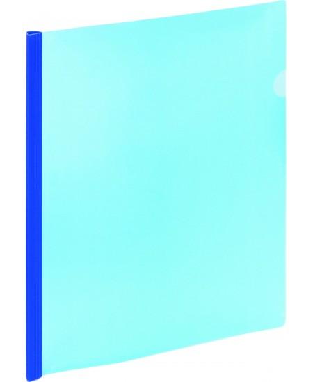 Aplankas su spaustuku GRAND, A4, mėlynas