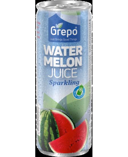 100% gazuotos arbūzų sultys GREPO, 320 ml