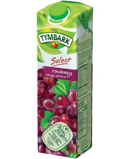 Raudonų vynuogių nektaras TYMBARK, 1 l
