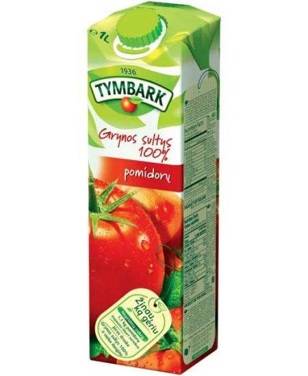 Pomidorų sultys TYMBARK, 100%, 1 l