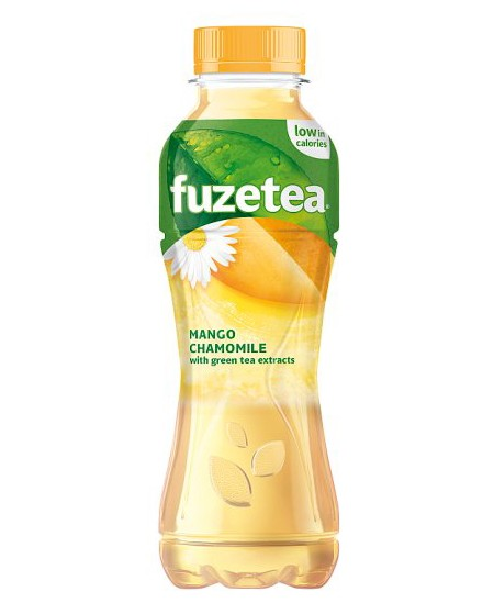 Šaltoji mango chamomile arbata Fuzetea, 500 ml