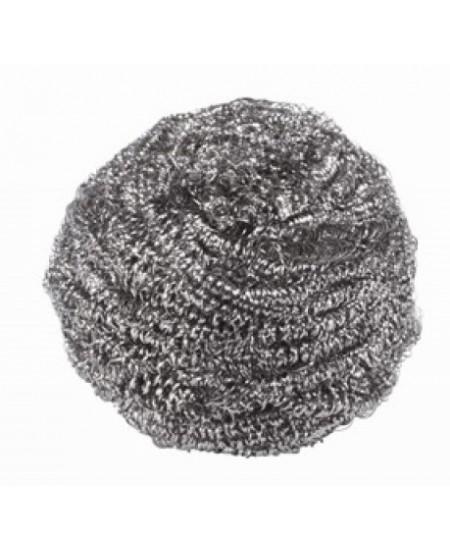 Metalinis šveistukas INOX, spiralinis, didelis, 1 vnt.