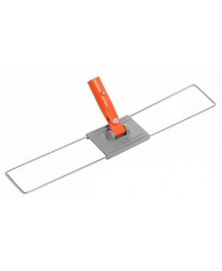 Laikiklis grindų šluostei, metalinis, su plastiku, 40 cm