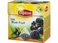 Vaisinė arbata LIPTON mėlynųjų uogų skonio, piramidės maišeliuose, 20 vnt.