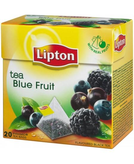Arbata LIPTON NIRVANA, juodoji, mėlynųjų uogų skonio, 20 vnt.