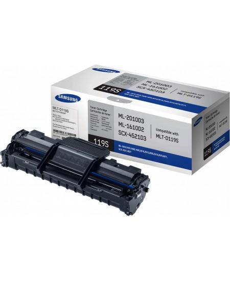 Lazerinė kasetė Samsung MLT-D119S (ML-1610 / ML-2010 / SCX-4521) | juoda