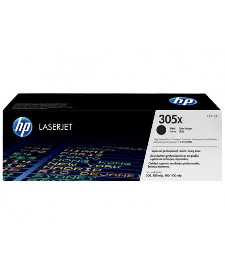 Lazerinė kasetė HP CE410X (305X) | didelės talpos | juoda