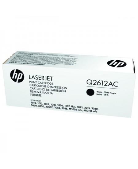 Lazerinė kasetė HP Q2612AC   juoda
