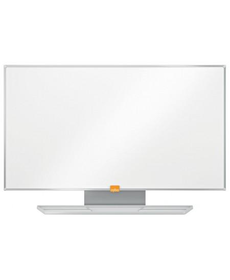 """Balta magnetinė lenta NOBO, plačiaekranė, 188x106 cm, 85"""", aliuminio rėmas"""