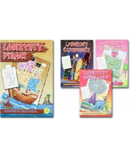 """Spalvinimo knygutė """"Labirintas"""", su užduotimis, A4"""