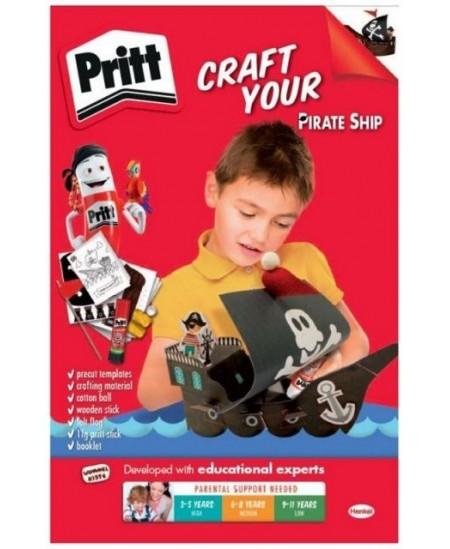 """Kūrybinis rinkinys PRITT """"Piratai"""", asorti"""