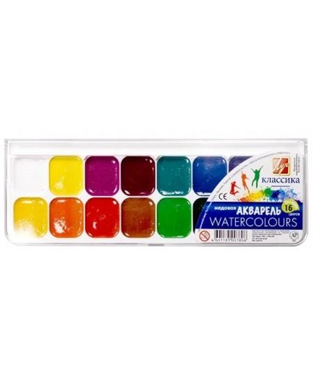 Akvarelė LUČ Klasika, 16 spalvų