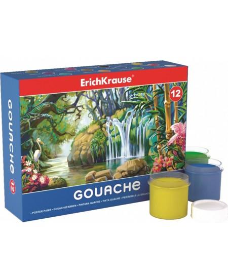 Guašas ERICH KRAUSE Easy, 12 spalvų