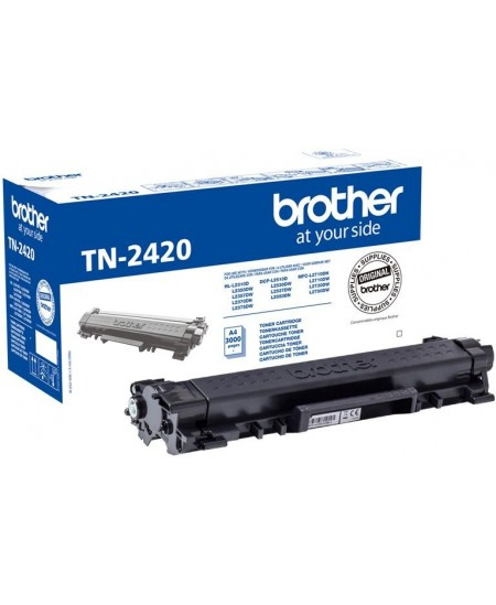 Brother TN2420 cartridge, black