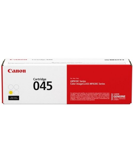 Canon 045 Yellow original toner cartridge