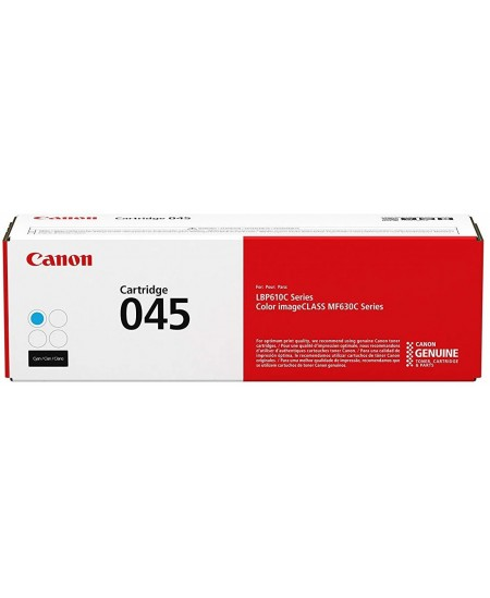 Canon 045 Cyan original toner cartridge