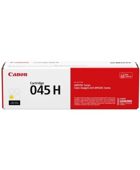 Canon 045 H High capacity yellow original toner cartridge