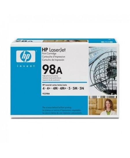 Lazerinė kasetė HP 92298A | juoda