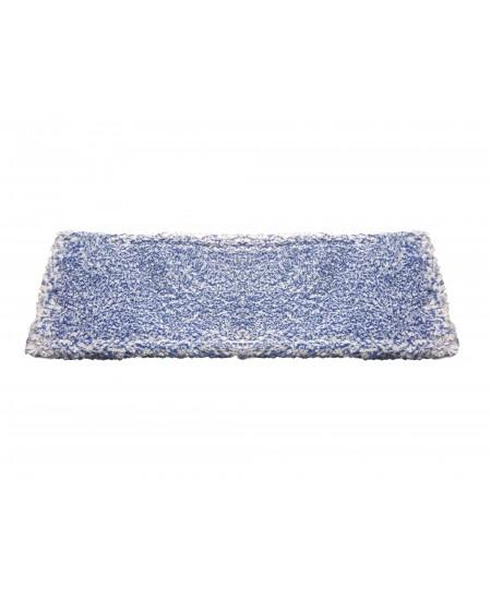Mikropluošto šluostė grindų laikikliui, PREMIUM, 40 cm, su kišenėlėmis