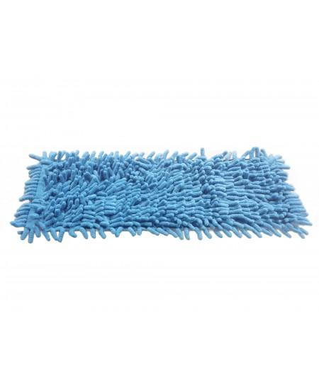 Mikropluošto šluostė grindų laikikliui, CHENILE, 50 cm, su kišenėlėmis