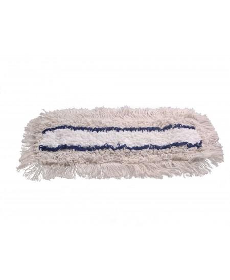 Kilpinė šluostė grindų laikikliui, HOSPITAL, karpyta, 50 cm, su kišenėlėmis