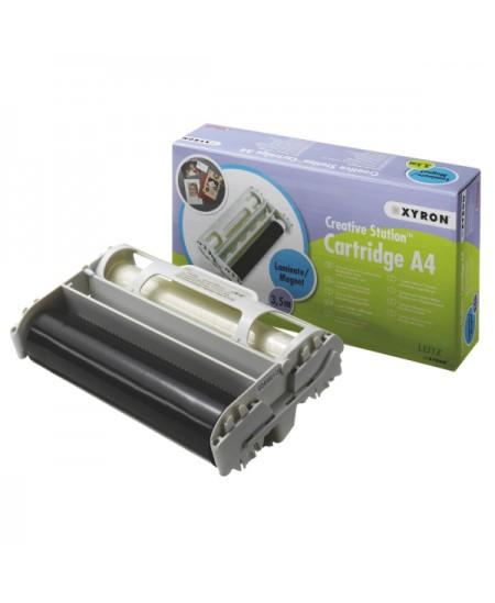 Laminavimo kasetė XYRON, A4, skaidri viršuje, magnetinė apačioje, 3.5m