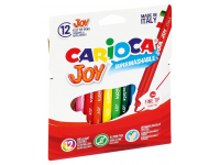 Flomasteriai CARIOCA Joy, 12 spalvų