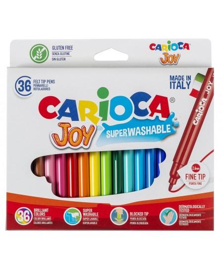 Flomasteriai CARIOCA Joy, 36 spalvų
