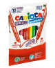 Flomasteriai CARIOCA, dvipusiai , 10 spalvų