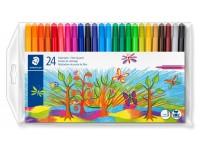 Flomasteriai STAEDTLER Noris Club, 24 spalvų