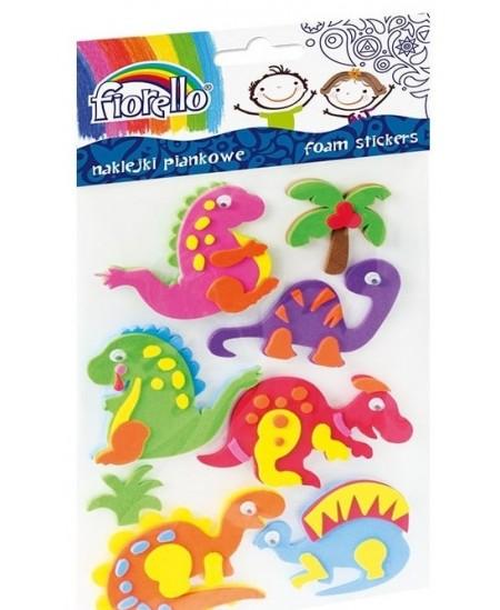 Lipdukai vaikams FIORELLO, 3D dinozaurai