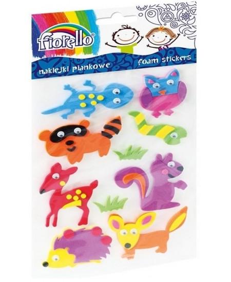 Lipdukai vaikams FIORELLO, 3D gyvūnai