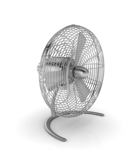 Stadler form CHARLY LITTLE C040E Desk Fan, Number of speeds 3, 45 W, Oscillation, Diameter 35,2 cm, Stainless steel