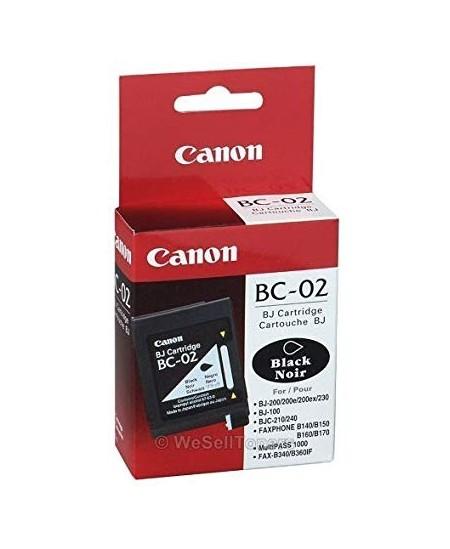 Canon BC-02 rašalinė kasetė, juoda
