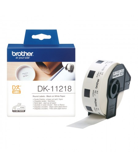 Brother DK-11218 Square Labels
