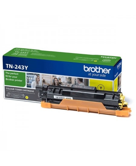 Brother TN243Y toner cartridge, yellow
