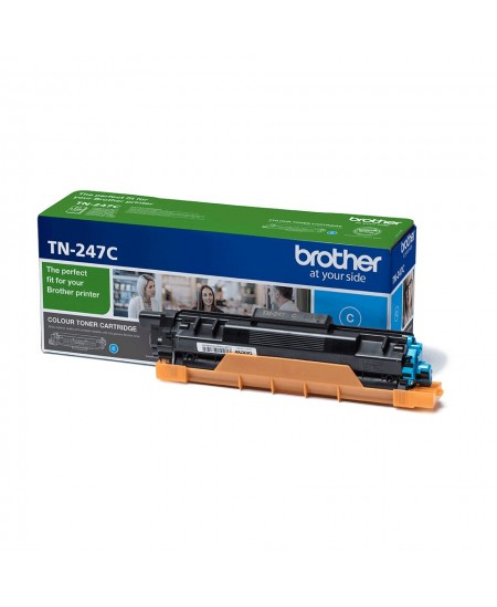 Brother TN247C toner cartridge, cyan