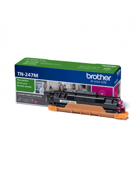 Brother TN247M toner cartridge, magenta