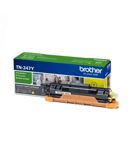 Brother TN247Y toner cartridge, yellow