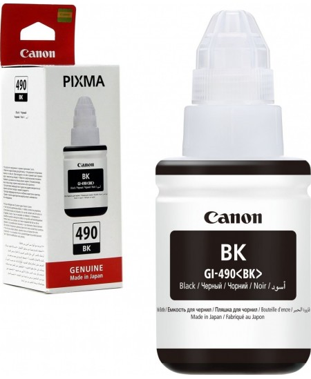 Canon GI-490 ink bottle, black