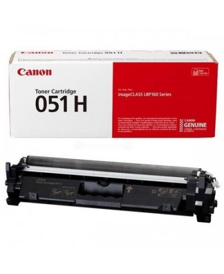 Canon cartridge 051 H, black