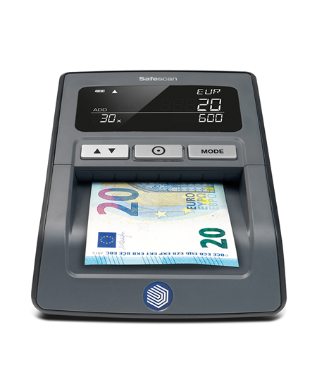 SAFESCA Money Checking Machine 155-S Black, Suitable for  EUR, GBP, CHF, PLN and HUF, Number of detection points 7, Value counti
